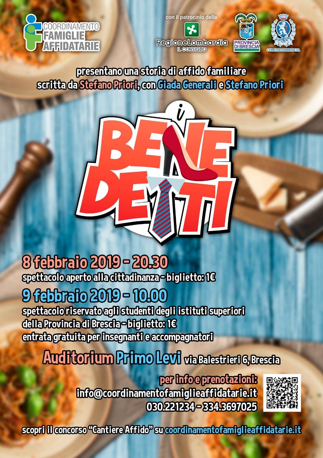 """Spettacolo Teatrale """"I Benedetti"""" @ Auditorium 'Primo Levi'"""