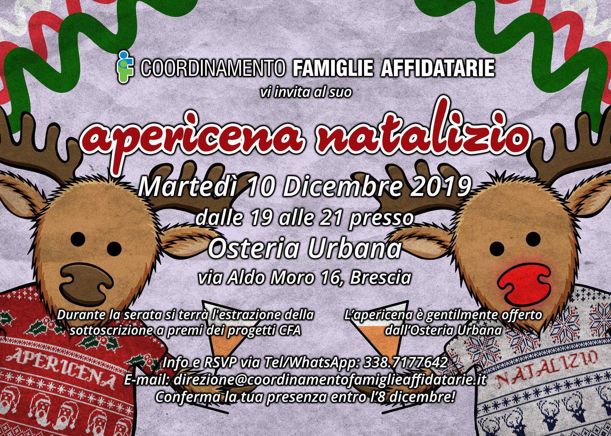 Apericena Natalizio 2019 @ Osteria Urbana